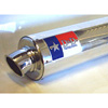00-01 Honda CBR929RR D&D Stainless Steel & Polished Aluminum Bolt On Exhaust