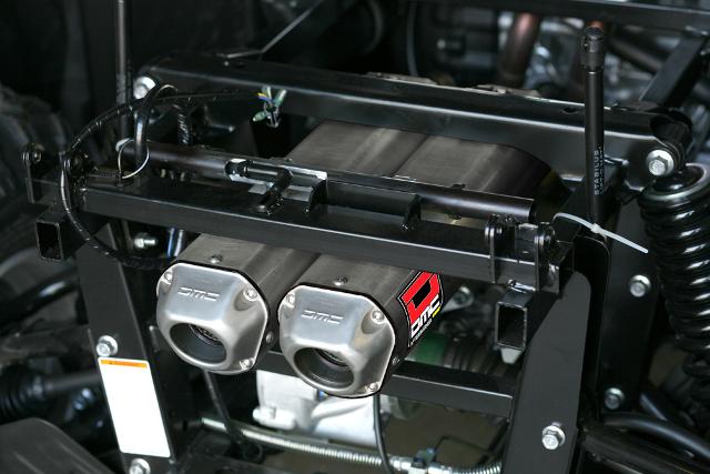 08-11 Yamaha Rhino 700 DMC Twin Full Exhaust System