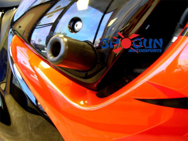 Black Frame Sliders - Suzuki Hayabusa Models [750-5229] - $35.99 ...