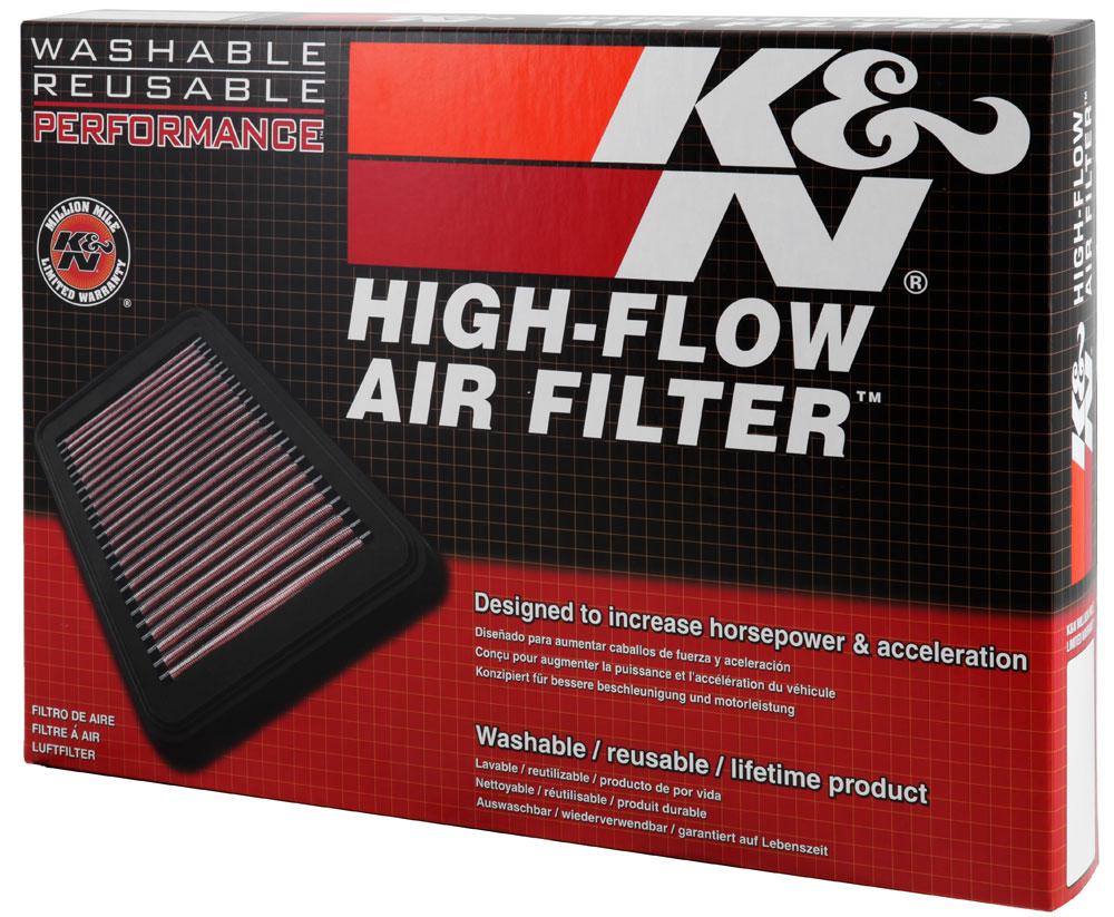K/&N Panel Air Filter FOR VOLKSWAGEN PARATI 1.9L L4 DSL 33-2127