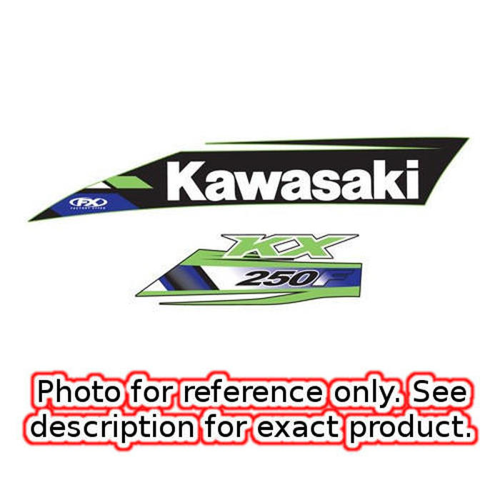 2012-14 Kawasaki KX450F Factory Look Tank / Shroud Graphics - 2013 Style - Click Image to Close