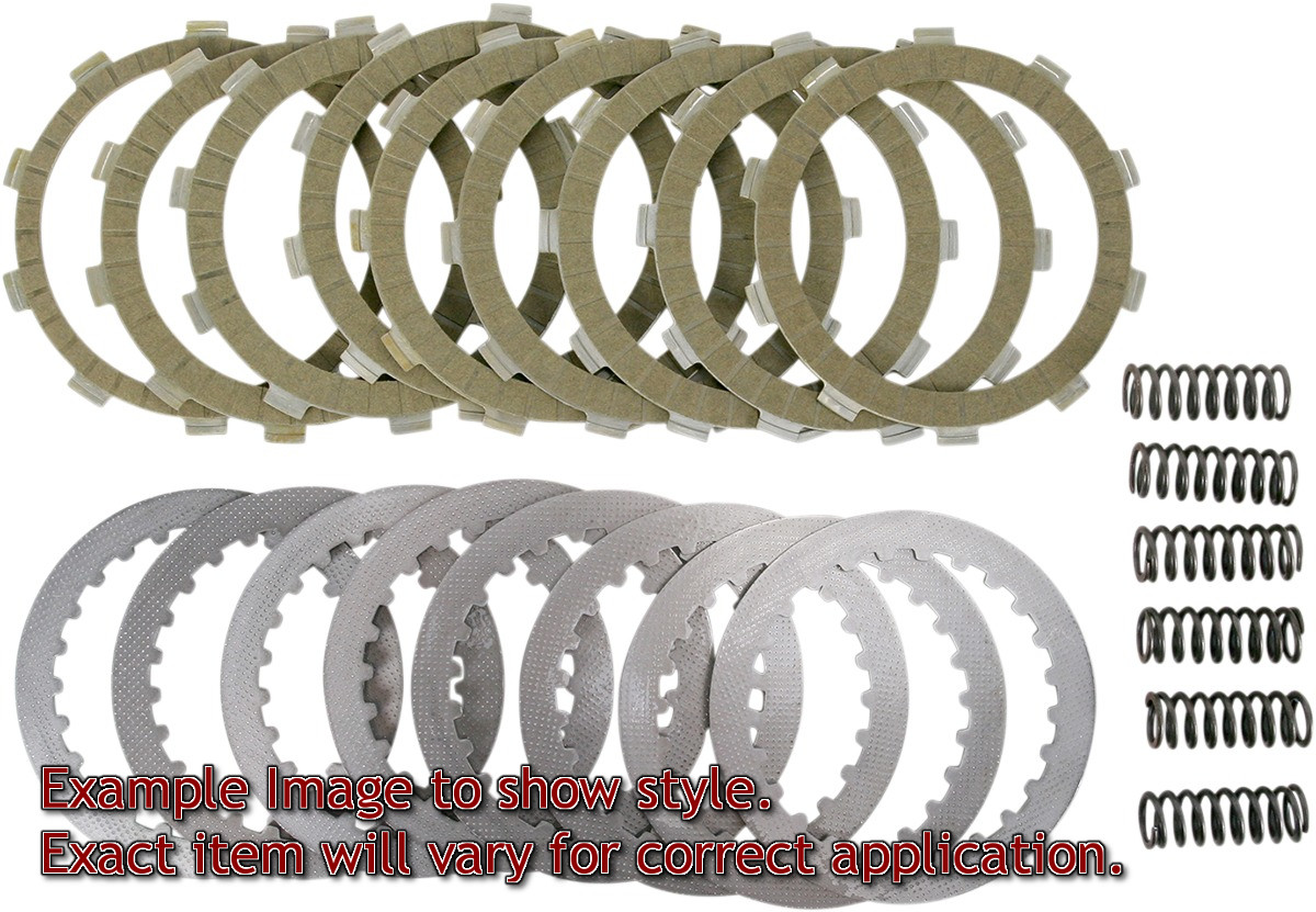 SRK Complete Clutch Kit - Aramid Fiber Friction Plates, Steels, & Springs - Click Image to Close