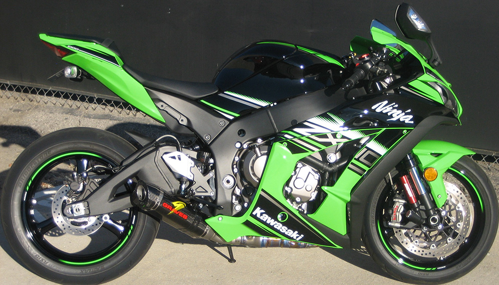 Fender Eliminator Kit Kawasaki ZX10R Larger Image
