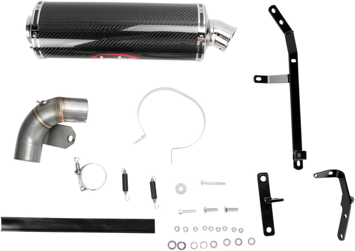 RT1 Carbon Fiber Slip On Exhaust - For 02+ Buell XB9 & XB12