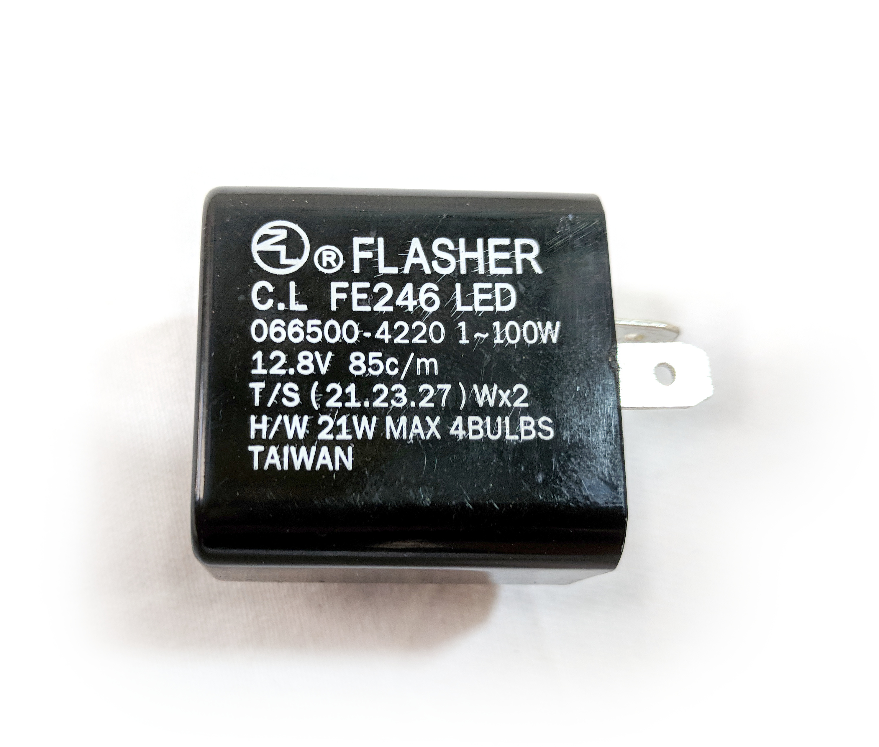 2 Pin Flasher Relay For Led Std Signals Fix Flash Rate On Grom Electronic Larger Image