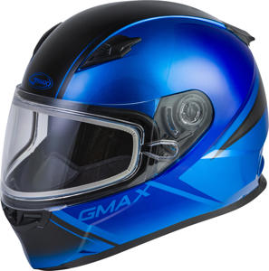 FF-49S Full-Face Hail Snow Helmet Blue/Black X-Large