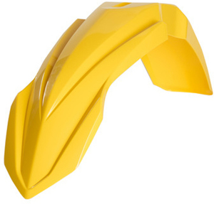 Front Fender Yellow - For 10-18 Yamaha