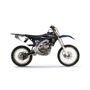02-12 Yamaha YZ85 Factory Effex Monster Energy Graphic Kit