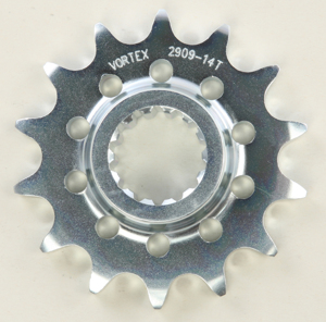 Front C/S Steel Sprocket 14T - For 02-12 Ducati