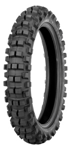 525 Hybrid Cheater Rear Tire 110/100-18 64M Bias TT