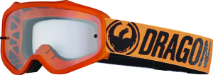 Mxv Break Goggle Orange W/Clear Lens - MXV Goggle