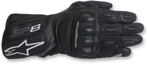 Women's SP-8 V2 Street Riding Gloves Black/Gray X-Large