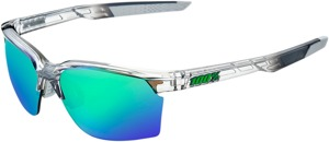 Sportcoupe Sunglasses Gray w/ Green Mirror Lens