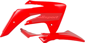 Radiator Shrouds Red - For 07-18 Honda CRF150R/B