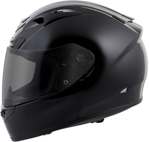 EXO-R710 Full-Face Solid Motorcycle Helmet Black X-Large