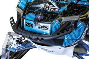 Chris Burandt Lightweight Front Bumper - 10-15 Polaris Rush, Pro-RMK