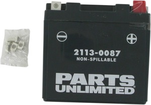 AGM Maintenance Free Battery 130CCA 12V 6Ah Factory Activated - Replaces YTZ7S