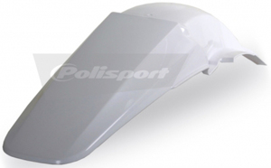 Rear Fender White - For 02-04 Honda CRF450R