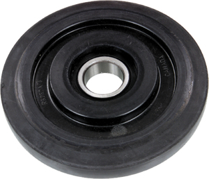 "Idler Wheel Black 5.12""x25Mm"