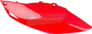 Plastic Side Number Plate Red - 13-16 CRF450R 14-17 CRF250R
