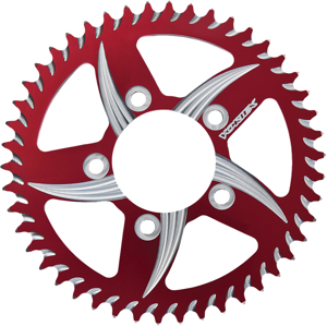 Cat5 Rear Aluminum Sprocket Red 47T - For 00-14 Triumph Suzuki
