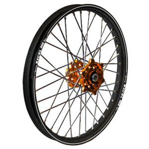MX Rear Wheel 2.15x19 Orange/Black - For 06-17 Husqvarna KTM