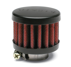 "Engine Breather Filter - PCV 3/4""ID FLG, 2""OD Rubber Top"