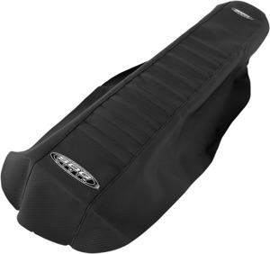 9 Pleat Water Resistant Seat Cover Black - For 03-07 Kawasaki KX125 KX250