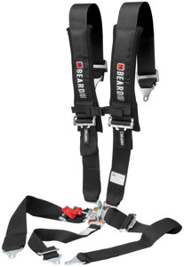 "5 Point Beard Safety harness - 3"" x 3"" w/Pads Latch and Link Buckle"