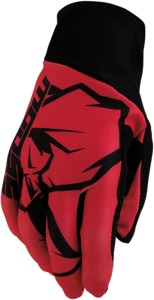 Agroid Motocross Gloves - Red Short Cuff 2X-Large