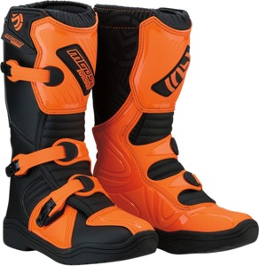 M1.3 Boots - Black & Orange Youth Size 7