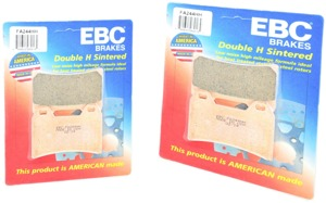 Sintered Double-H Brake Pads Front Set