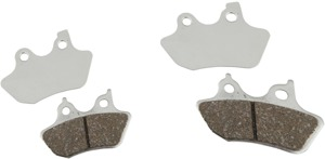 Chromed V Series Brake Pads - Set - Chrome Plated V Series Brake Pads Front Set