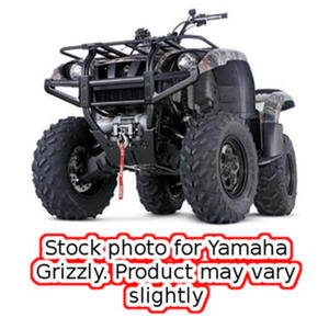 09-13 Yamaha Grizzly 450 (EPS) 4x4 Warn ATV Winch Mounting Kit - 80540