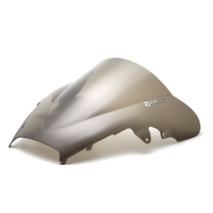 Smoke Double Bubble Windscreen - 98-01 Honda VFR800