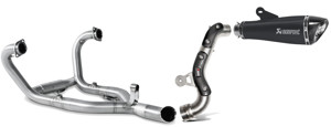 Black Titanium High Mount Full Exhaust