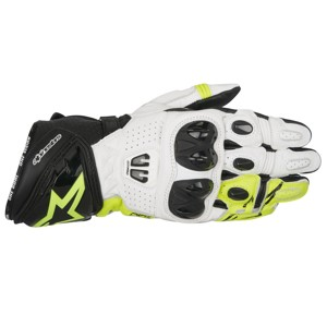 GP Pro R2 Black White Fluorescent Yellow Gloves L