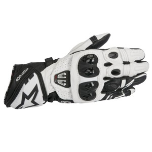 GP Pro R2 Black White Gloves XL