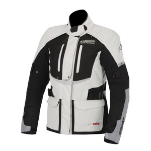 Stella Andes Drystar Textile Motorcycle Jacket - Gray/Black S