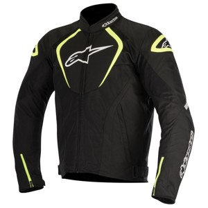 T-Jaws Air Textile Motorcycle Jacket - Black/White/Fluo Yellow 3XL