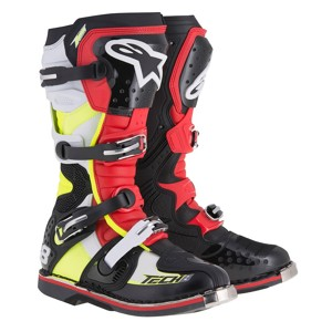 Boots Tech 8 RS Black/Red/Yellow 15