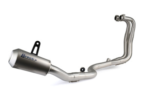 VZ9 Veloce Titanium Full Exhaust - for 13-17 Kawasaki Ninja 300