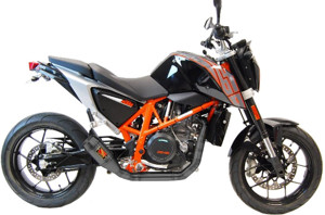 Black Velvet Full Exhaust - KTM 690 Duke