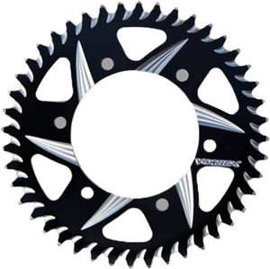 CAT5 Rear Aluminum Sprocket Black 41T 525 - For 02-12 Ducati 848-1000