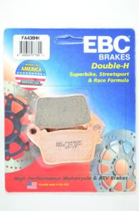 Sintered Double-H Rear Brake Pads - Motorcycle