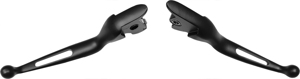 Vortex Custom Levers Black (PAIR) - For 14-16 Harley Touring