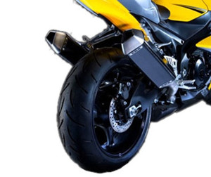 APEX Slip On Exhaust Dual Carbon Fiber Mufflers