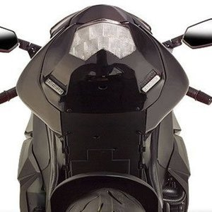 Undertail Transparent Smoke - For 08-10 Kawasaki ZX10R