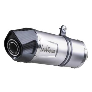 LV One Evo Stainless Steel Slip On Exhaust Muffler - For 08-16 BMW F 650/700/800 GS
