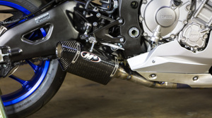 Street Slayer Carbon Fiber 3/4 Slip On Exhaust